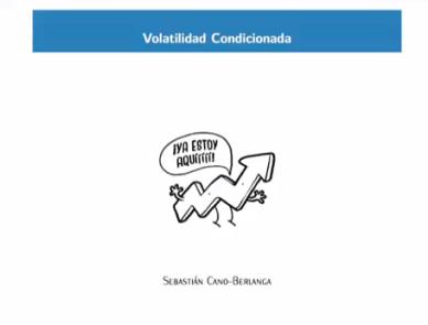 Volatilidad condicionada